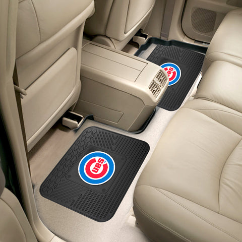 Chicago Cubs Rear Seat Mats