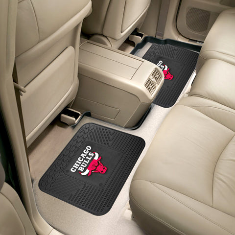 Chicago Bulls Rear Seat Mats