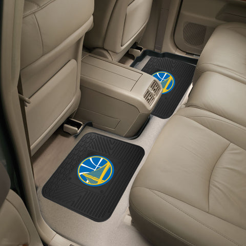 Golden State Warriors Rear Seat Mats