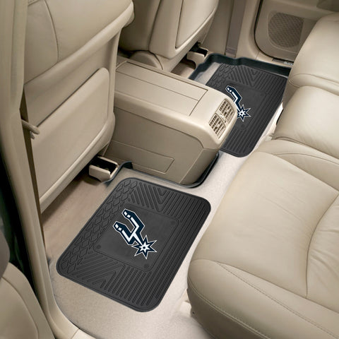 San Antonio Spurs Rear Seat Mats