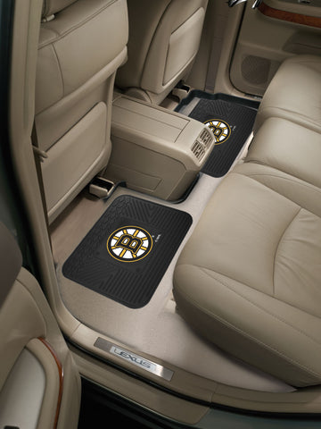 Boston Bruins Rear Seat Mats
