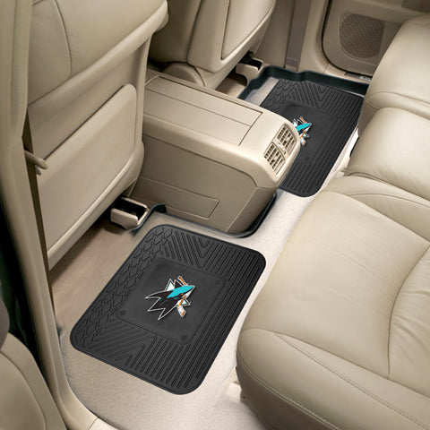 San Jose Sharks Rear Seat Mats