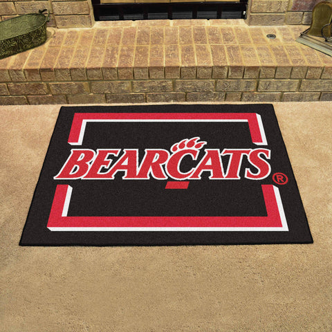 University of Cincinnati All Star Area Rug Mat Model 13568