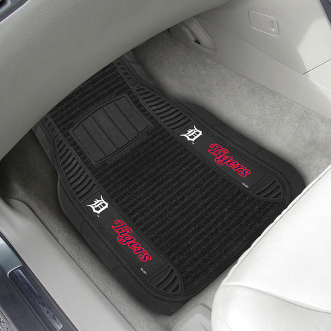 "Detroit Tigers Deluxe Car Mats 21""x27"""