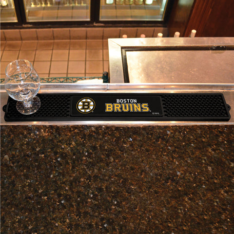 "Boston Bruins Drink Mat 3.25""x24"""