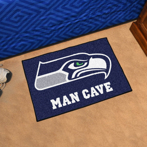 Seattle Seahawks Man Cave Starter Mat
