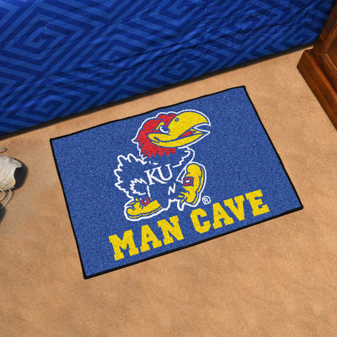 University of Kansas Man Cave Starter Mat