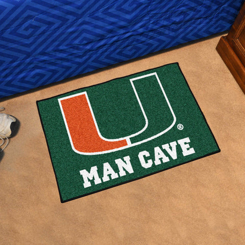 University of Miami Man Cave Starter Mat