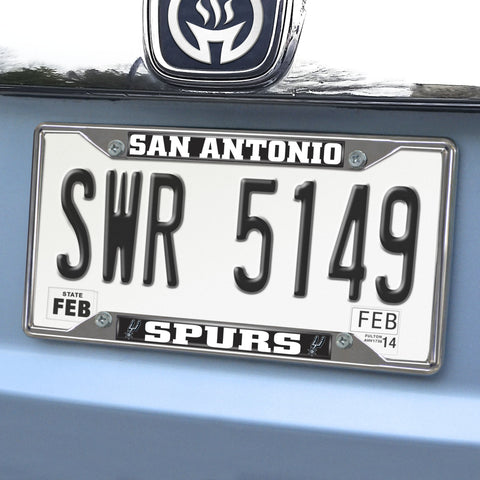 "San Antonio Spurs License Plate Frame 6.25""x12.25"""