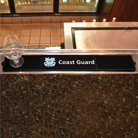 "Coast Guard Drink Mat 3.25""x24"""