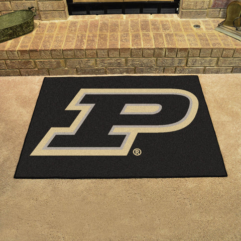 Purdue University All Star Area Rug Mat Model 16824