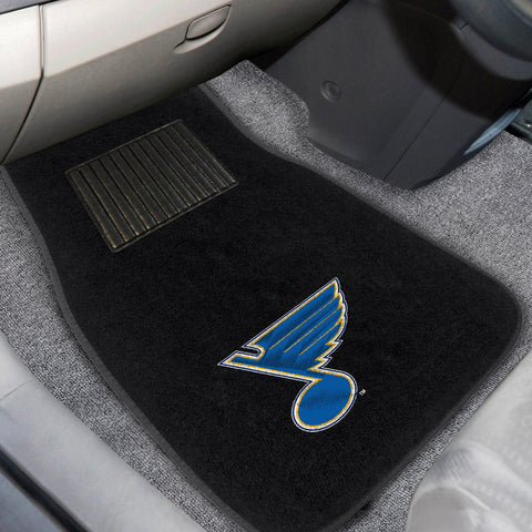 St Louis Blues Embroidered Car Mats