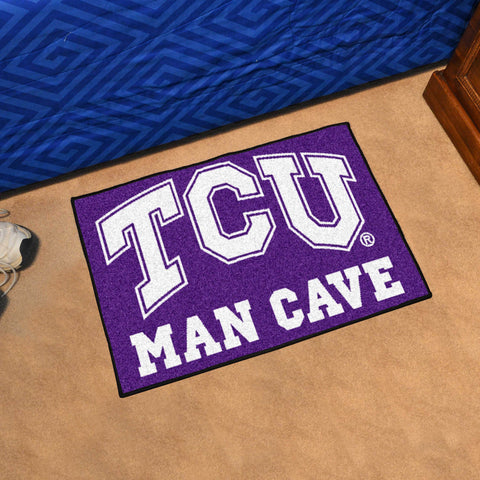 Texas Christian University Man Cave Starter Mat