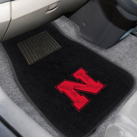 University of Nebraska Embroidered Car Mats