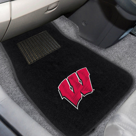 University of Wisconsin Embroidered Car Mats