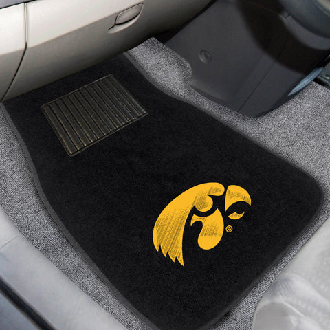 University of Iowa Embroidered Car Mats