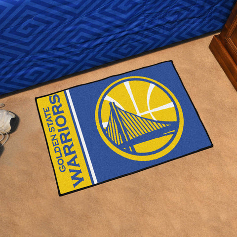 Golden State Warriors Uniform Inspired Mat