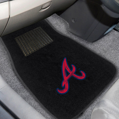 Atlanta Braves Embroidered Car Mats