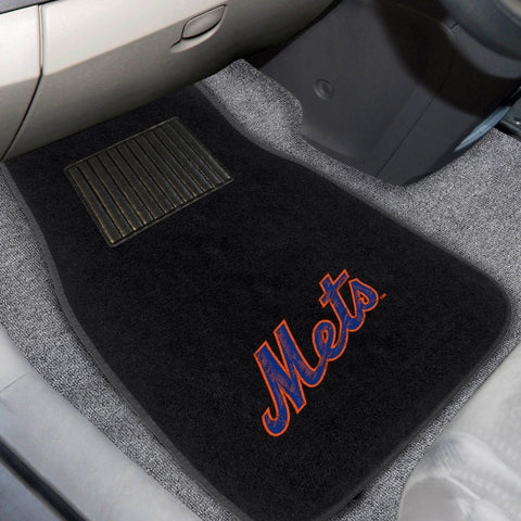 New York Mets Embroidered Car Mats