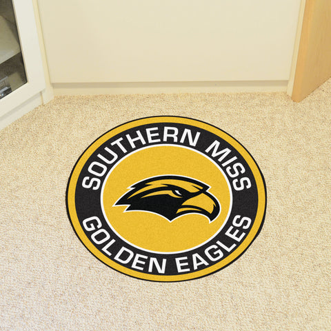 University of Southern Mississippi Roundel Mat