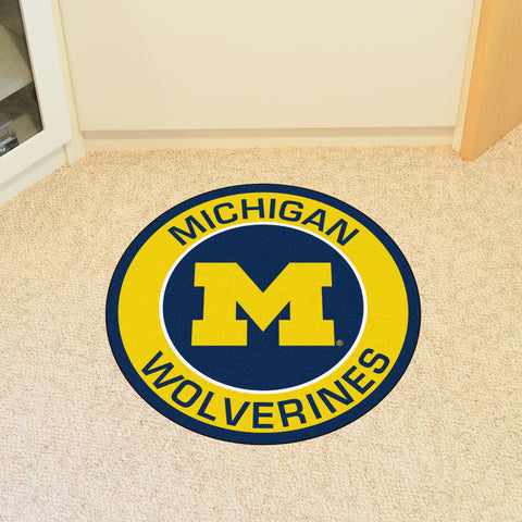 University of Michigan Roundel Mat