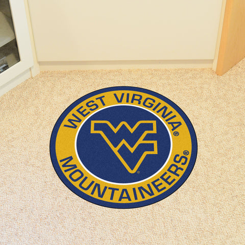 West Virginia University Roundel Mat