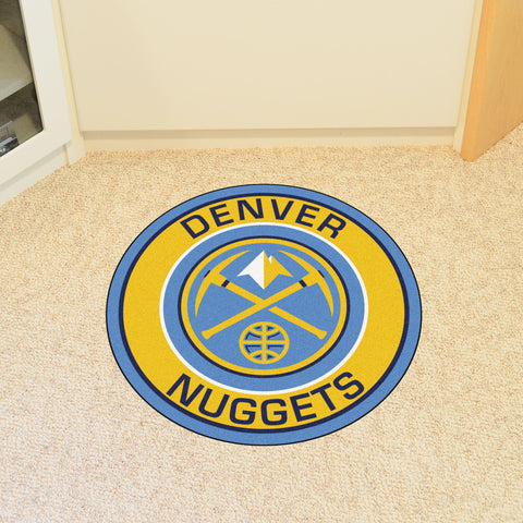 Denver Nuggets Roundel Mat