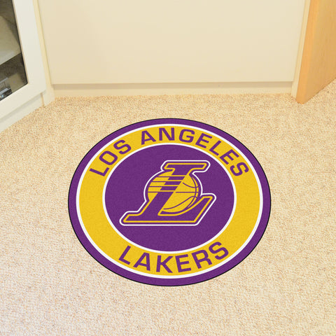 Los Angeles Lakers Roundel Mat