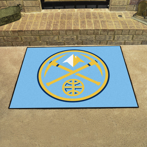 Denver Nuggets All Star Area Rug Mat Model 19436