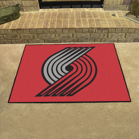 Portland Trail Blazers All Star Area Rug Mat Model 19471