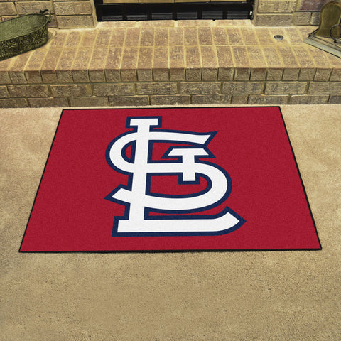 St. Louis Cardinals All Star Area Rug Mat Model 20335