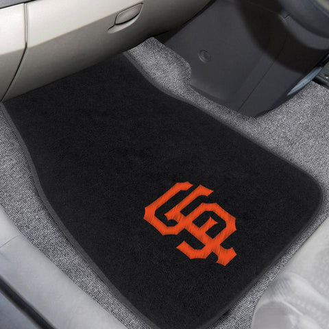 San Francisco Giants Embroidered Car Mats