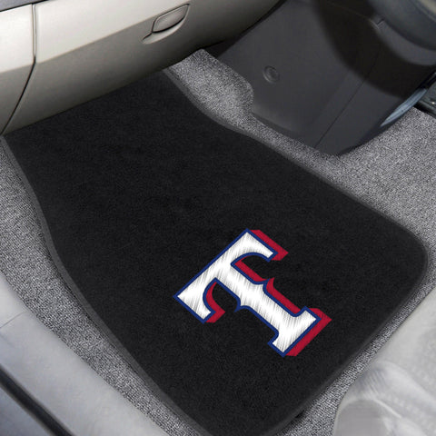 Texas Rangers Embroidered Car Mats