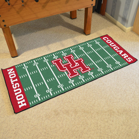 "Houston Football Field Runner Area Rug Mat by Fanmats 30""x72"" Item Number 21726"