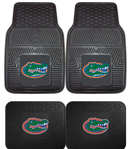 Florida Gators 4 Piece Heavy Duty Car Floor Mat Set