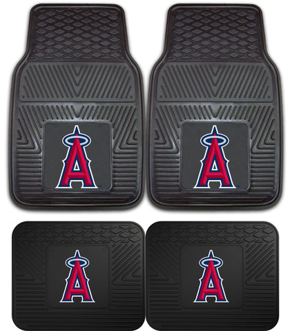 Los Angeles Angels Heavy Duty 2 and 4 Piece Car Floor Mat Sets