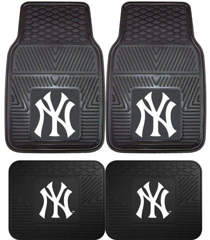 New York Yankees Heavy Duty Car Floor Mats by Fanmats