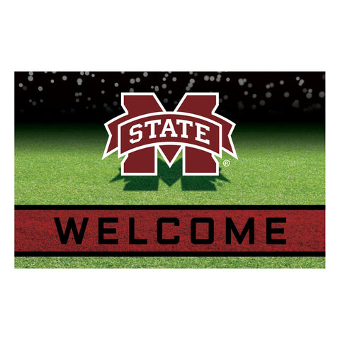 Mississippi State University Crumb Rubber Door Mat