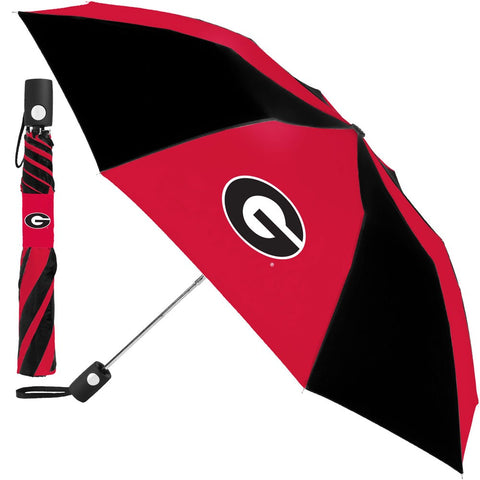 Georgia Bulldogs Compact Auto Folding Umbrella