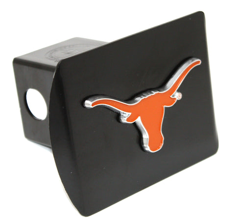 "Texas Color Metal Hitch Black 3.4""x4"""