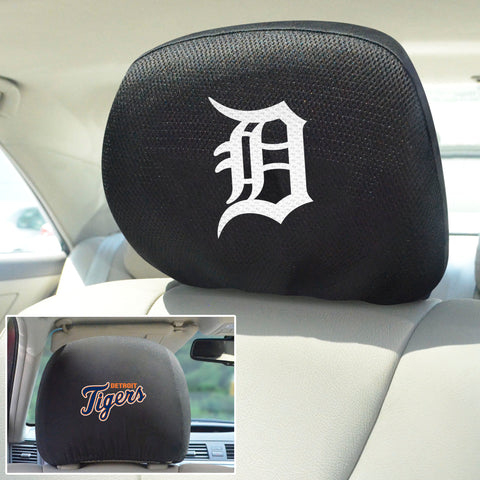 Detroit Tigers Embroidered Head Rest Covers