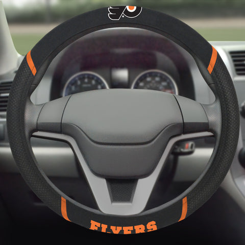 "Philadelphia Flyers Steering Wheel Cover 15""x15"""