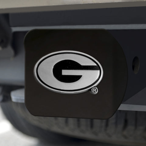 "Georgia Black Hitch Cover 4 1/2""x3 3/8"""
