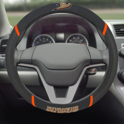 "Anaheim Ducks Steering Wheel Cover 15""x15"""
