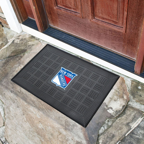 "New York Rangers Door Mat 19.5""x31.25"""