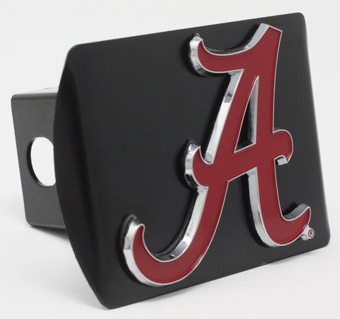"Alabama Color Metal Hitch Black 3.4""x4"""