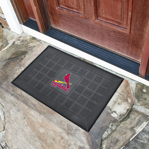 "St. Louis Cardinals Door Mat 19.5""x31.25"""
