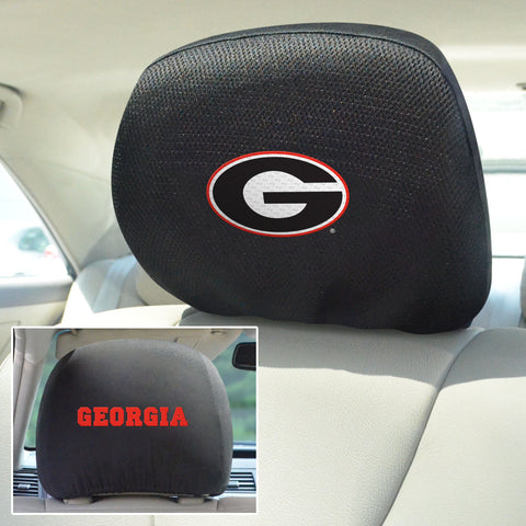 University of Georgia Head Rest Covers
