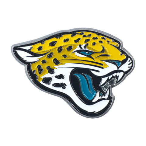 NFL - Jacksonville Jaguars Chrome Color Metal Emblem