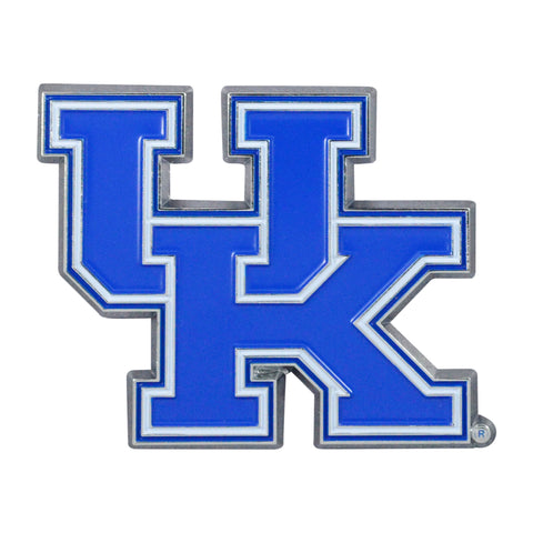 "Kentucky Color Metal Emblem 2""x3.2"""